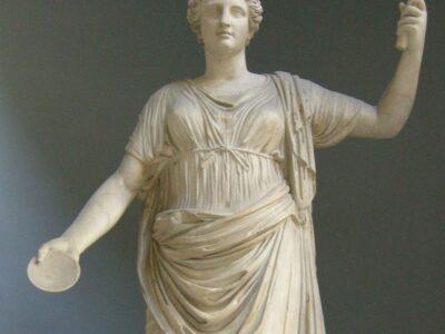 Clementia, Roman goddess of forgiveness, leniency and mercy. Source: Wikimedia Commons.